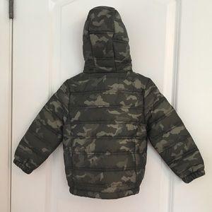 74da3d4496ab7 Eddie Bauer Jackets & Coats - Eddie Bauer Camouflage Puffer Jacket with hood